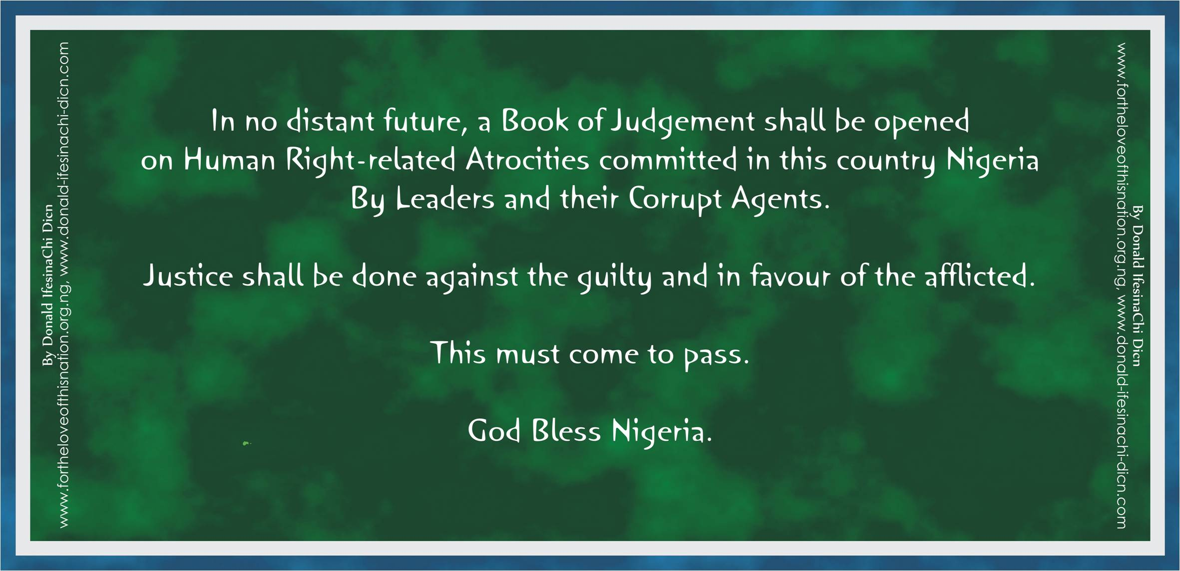 Declaration For Nigeria