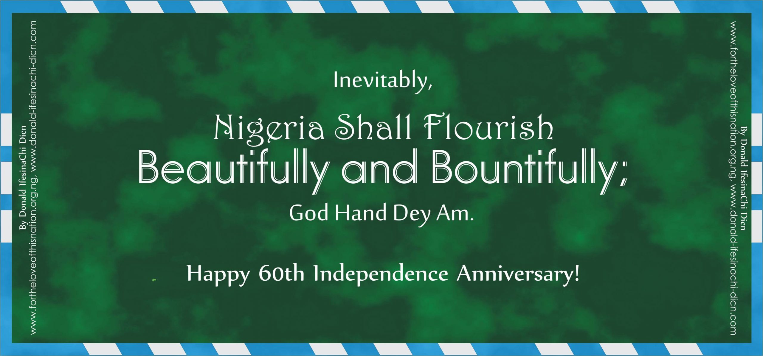 Motivational Quote By Donald IfesinaChi Dicn